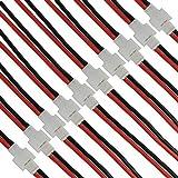 10 Pares SYMA X5C X5A X5SW 2.0mm Batería de 2 Pines Conector Macho Hembra con Cable
