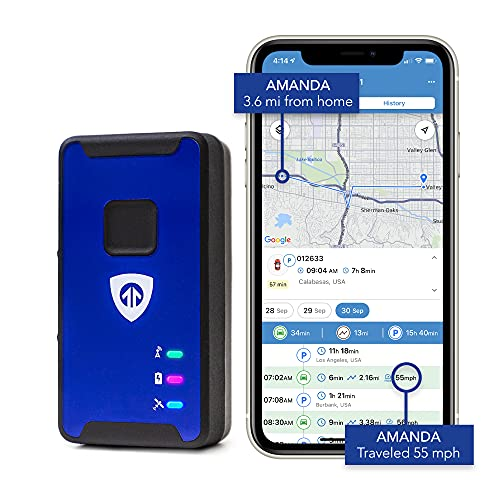 Brickhouse Security Spark Nano 7 LTE Micro GPS Tracker for Covert Monitoring of Teen Drivers, Kids,...