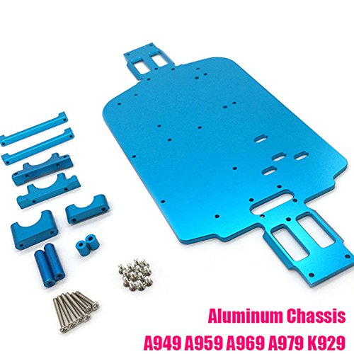 Tiamu 1 Set Complete Upgrade Parts Kit for 1//18 WLtoys A959-B A969-B A979-B K929-B Electric RC Car Off Road Buggy Metal Replacement