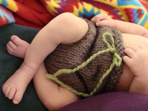 Charlie's Unisex Diaper Cover Knitting Pattern - 3 Sizes Inclu