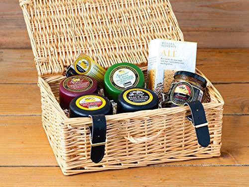 Cheese Lovers Wicker Gift Hamper
