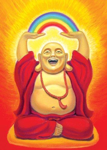 One Source Tree Free, Card Laughing Buddha, 1 Each
