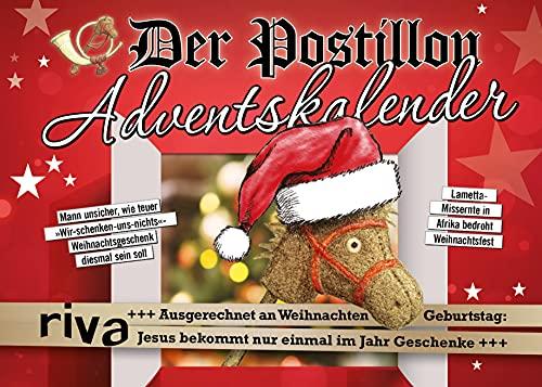 Der Postillon Adventskalender: Adventskalender mit auftrennbaren Seiten