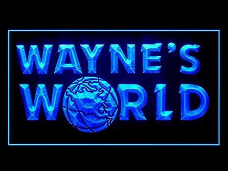 Amazon Com Lamazo Wayne S World Led Light Sign Home Kitchen