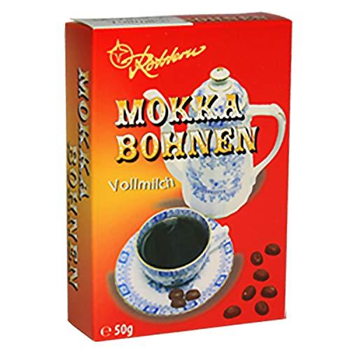 Rotstern Mokka Bohnen Zartbitter Ostprodukt