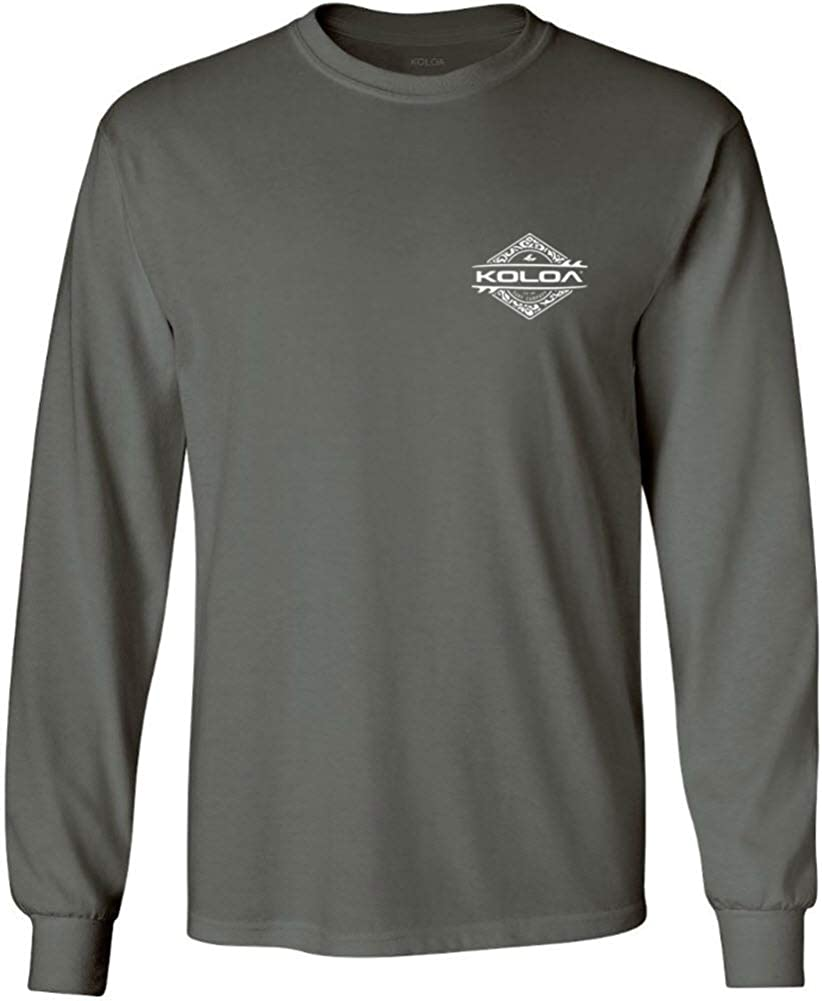Koloa Surf Mens Diamond Thruster Logo Long Sleeve T-Shirts - Regular, Big & Tall