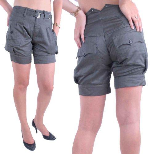 Diesel Damen Bermuda Shorts Lienn Calzoncino Khaki (W26)