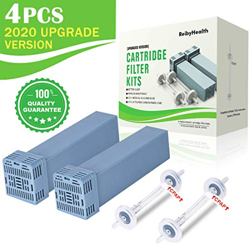 [2020 Upgraded] Premium Cartridge Filter Kit Accessory,Filter Replacement Kit, Includes 2 Cartridge Filters + 2 Check Valves +2 O-Rings, One Year Supply
