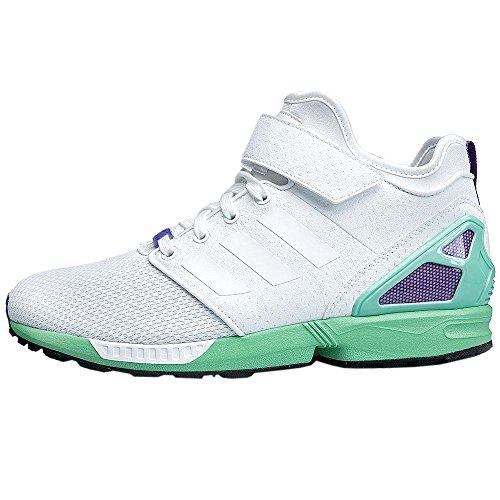 adidas Originals Zx Flux NPS Mid Mens Trainers Sneakers Shoes (UK 6 US 6.5 EU 39 1/3, Ftwwht/Cblack...