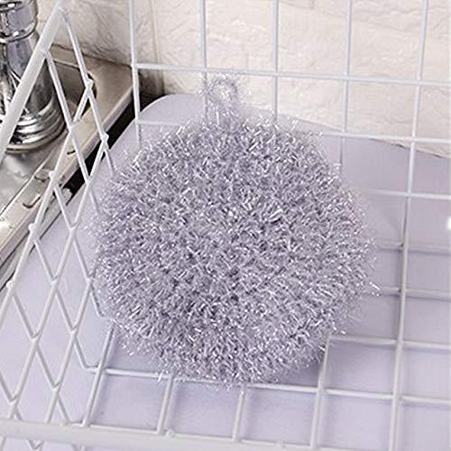 ADSIKOOJF Acryl Polyester Zijde Ronde Schaal Wasdoek Super Absorberende Reinigingsdoek Rag Voor Auto's Keuken Handdoek Reinigen Rag