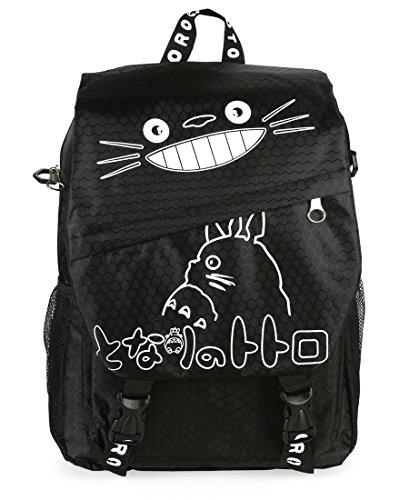 CoolChange Totoro Rucksack / Umhängetasche in Schwarz