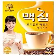 MAXIM Mocha Gold Instant Coffee Mix - 50 Sticks