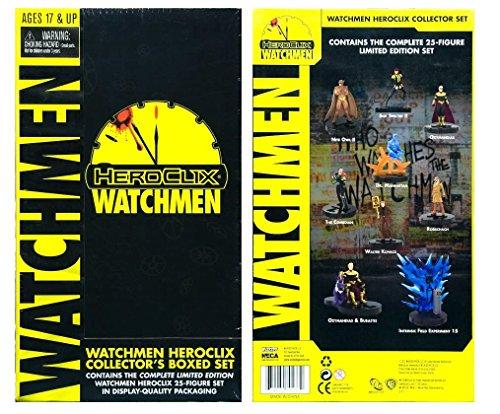 wizkids/NECA 70137–heroclix Watchmen Collector Box