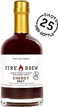 Fire Brew Apple Cider Vinegar based Beet Health Tonic, Energy Booster, 12.7 OZ (20-30 shots per bottle) (1 Bottle)