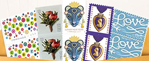 20 Forever Postage Stamps - Stamp Design May Vary