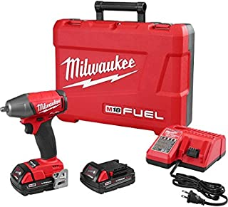 "Milwaukee 2754-22CT M18 Fuel 3/8"" Impact Wr- Cp Kit"