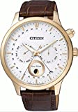 CITIZEN AP1052-00A 逆輸入 シチズン エコドライブ ムーンフェイズ 月齢 メンズ ウォッチ 並行輸入品