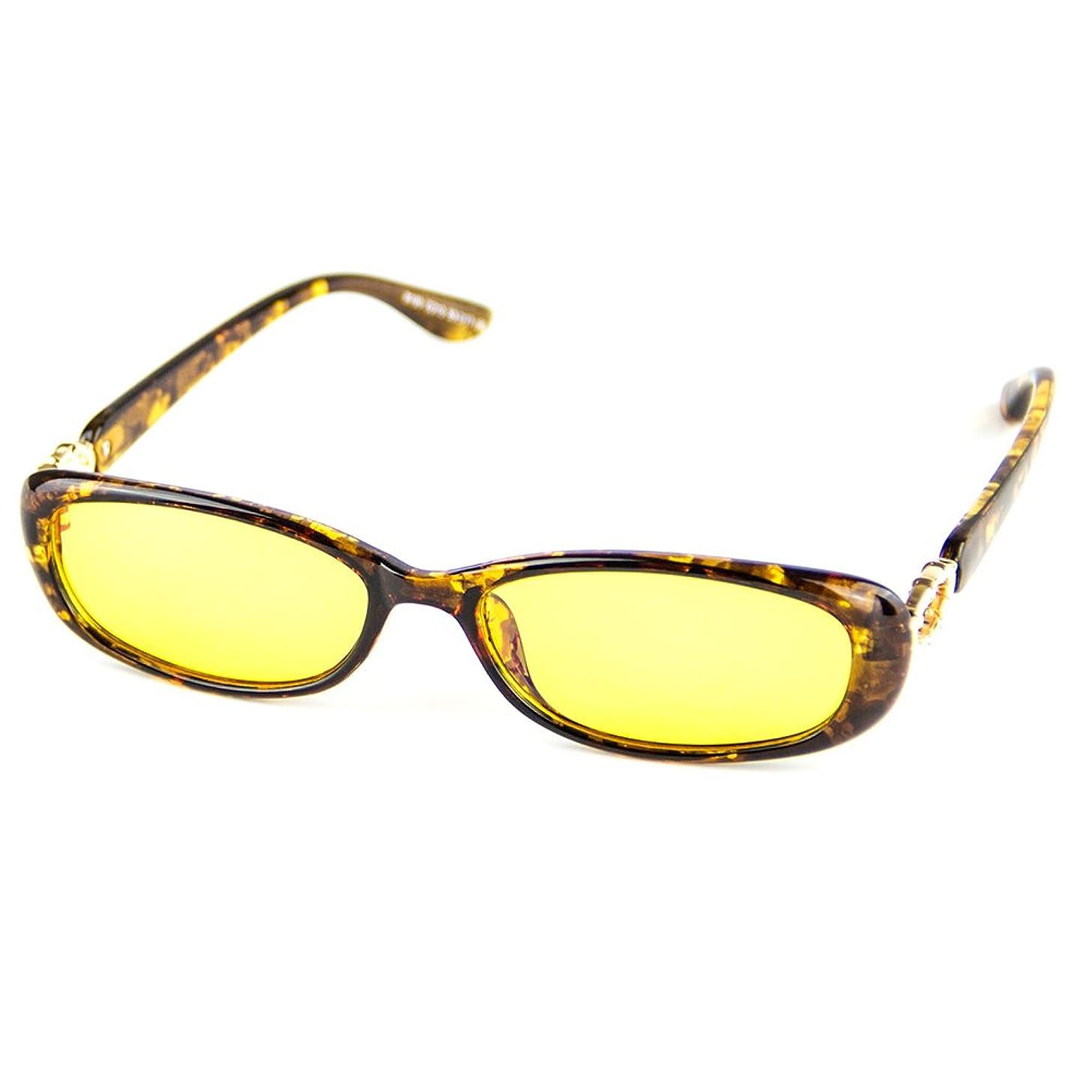 Cyxus Blue Light UV Blocking Glasses Sleep Better Vintage Oval Eyewear
