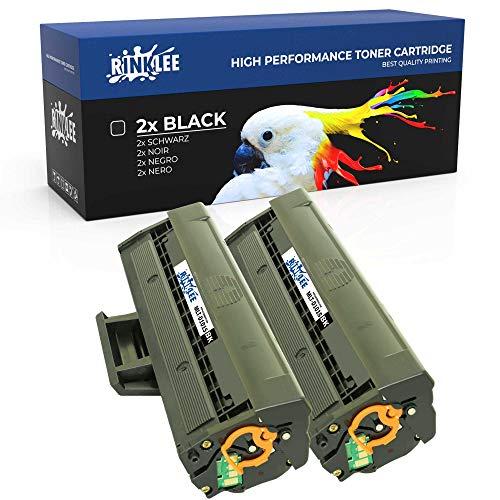 RINKLEE MLT-D101S Cartuccia Toner Compatibile per Samsung ML-2160 ML-2165 ML-2165W ML-2168 SCX-3400 SCX-3400FW SCX-3405 SCX-3405FW SCX-3405W SCX-3405F SF-760P | Alta Capacità 1500 Pagine, 2 Nero
