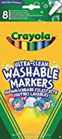 Crayola - 58-8330-e-000 - Feutres - Fins Ultra Lavables - 8 Pièces