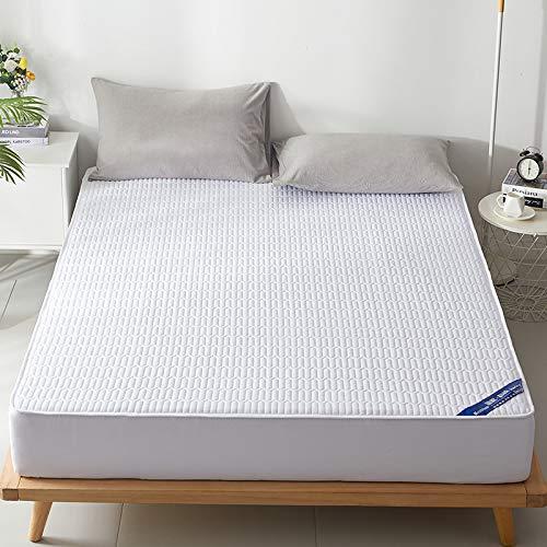 haiba sábana de una sola pieza cubierta protectora colchoneta cubierta de polvo antideslizante 90x200cm