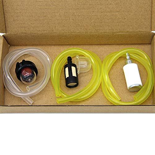 SWNKDG Juego de 3 mangueras de combustible, 2 x 3 mm, 2,5 x 5 mm, 3 x 5,5 mm, para gasolina, aceite, diésel, PVC