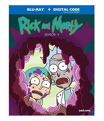 Rick and Morty: Season 4 (Blu-ray + Digital)  $15 at Amazon