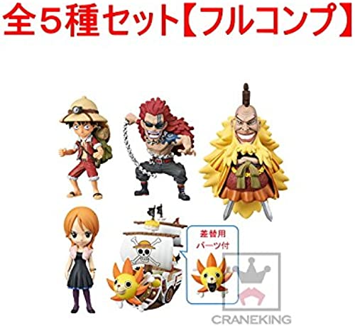 ONE PIECE WCF Treasure rally Shiki Nami Sunny ver the entire set of 5