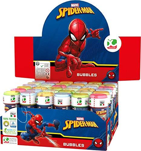 """Bolle di Sapone """"Ultimate Spiderman"""" Marvel - Display con 36 pezzi"""