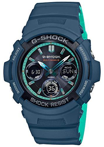 [カシオ] 腕時計 ジーショック 電波ソーラー AWG-M100SCC-2AJF メンズ ブルー