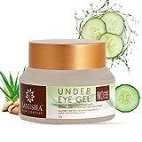 Samisha Organic Under Eye Dark Circles Removal Cream Gel For Reducing Puffiness, Eye Bags, Wrinkles,...