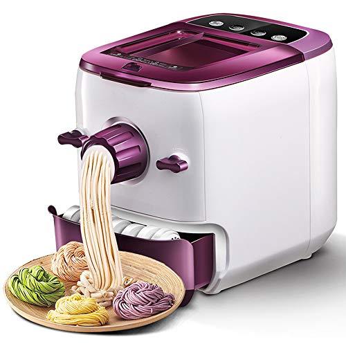 lijunjp Máquina eléctrica para Hacer Pasta y Fideos, Mezclas automáticas, amasamientos y extrusiones, Multifuncional de 7 Formas Diferentes, Blanco 220V