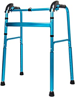 Elderly walker Adjustable Height Walker Lower Limb Training Uphill and Downhill Climbing walker Old Man up and Down Stairs walker Put it Carries with Placement