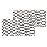 shinea Natural Lattice Willow Trellis Fence for Climbing Plants,Expandable Garden Fence Wall Panel, Outdoor Decorative Wood Fence (2)