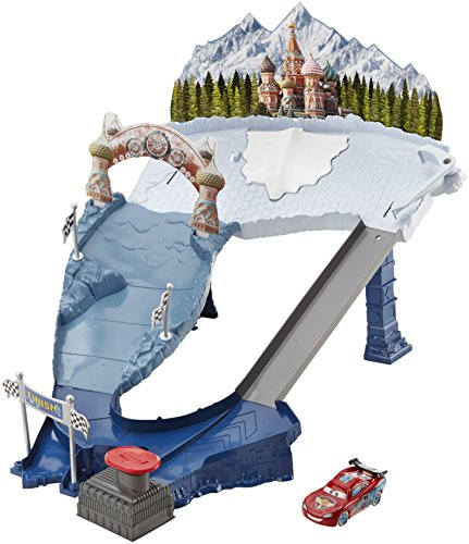 Disney Cars Ice Racers Snowdrift Spinout Playset