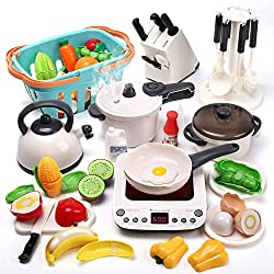 Image of CUTE STONE Kitchen Play Toy...: Bestviewsreviews