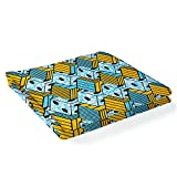 Ratti - Premium Wax gelb und blau, Stoff 100% Made In