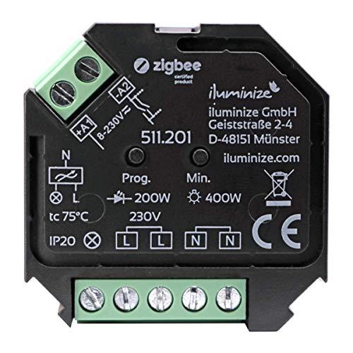 iluminize Zigbee 3.0 haute tension, Actionneur de variateur Zigbee 3.0.