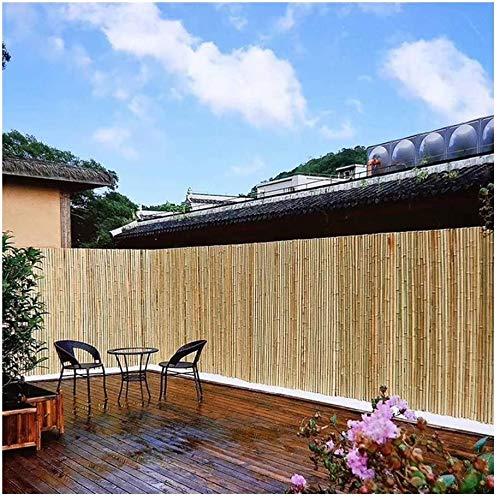 YZJL Balcón Pantalla de privacidad Jardín Privado Separación del Interior Fleje de Alambre Adecuado para su Uso en Jardines terrazas Valla de bambúdecoracion Jardin