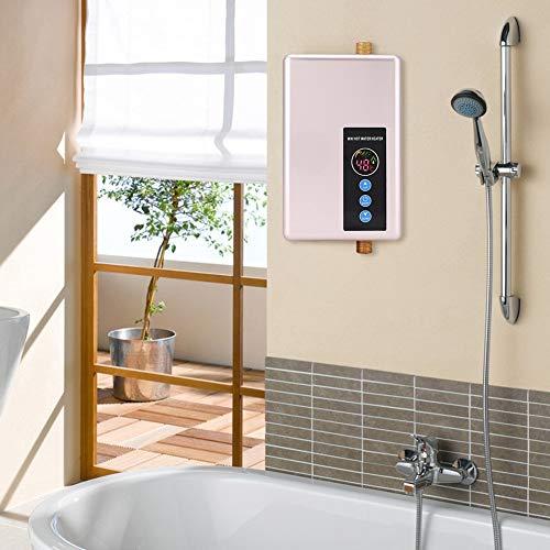 Sthfficial Mini warmwaterboiler, onmiddellijke douche, zonder tank, warm watersysteem, keuken, badkamer, multifunctioneel, snel warm
