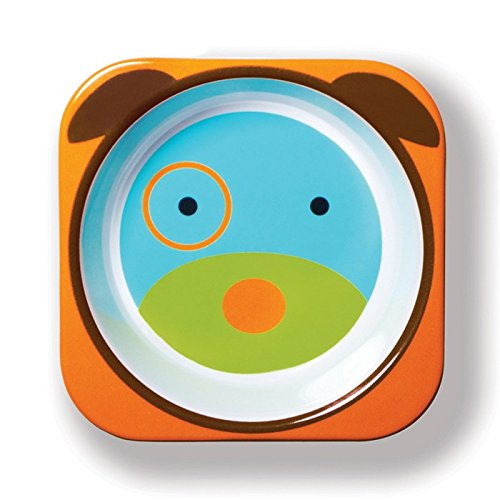 Price comparison product image Skip Hop Baby Bowl: Dishwasher Safe Zoo Bowl,  Dog