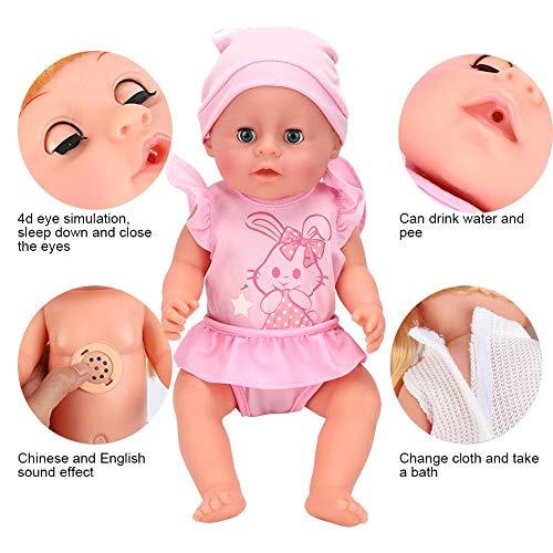 Brinquedo de boneca, brinquedo de boneca elétrica, brinquedo de boneca, presente de meninos para crianças para crianças(SY011-1 color box version)