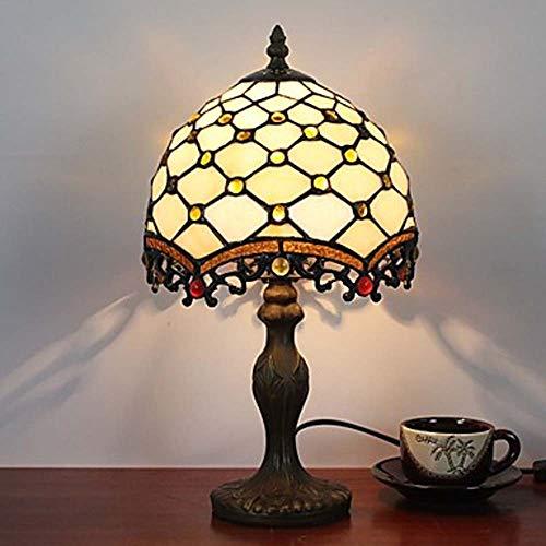 L.W.S Lámpara de Escritorio Lámpara Metal Multicolor Tiffany/País/Lodge/Lámpara de Mesa de la Novedad Lámpara de Pared de Resina 25W