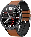 2021 Smart Watch Herren Full Round Touchscreen EKG Herzfrequenz Wetteranzeige IP68 Frauen Smartwatch...
