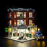 BRIKSMAX Kit de Iluminación Led para Taller de la Esquina-Compatible con Ladrillos de Construcción Lego Modelo 10264-Juego de Legos no Incluido