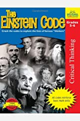 """The Einstein Code: Crack the Codes to Explore the Lives of Famous """"Thinkers"""" Paperback"""