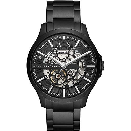 Armani Exchange Reloj Analógico para de los Hombres de Cuarzo con Correa en Acero Inoxidable AX2418