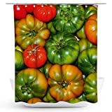 fotobar!style Duschvorhang 175 x 200 cm Tomaten