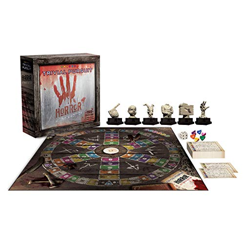 Trivial Pursuit Horror Ultimate Edition Board Game