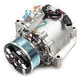 ECCPP A/C Compressor with Clutch fit for 2006-2011 for Honda Civic 1.8L CO 4918AC AC Compressors